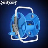 洗車水槍水管車架 汽車水槍家用水管澆花 高壓銅水槍頭水管收納 MKS卡洛琳