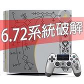 【PS4主機】 6.72最新破解 PS4 PRO 7117B 1TB 極致黑色 【自製改機備份】台中星光電玩