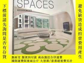 二手書博民逛書店HAUTE罕見SPACES: RESIDENCES 高級空間: