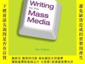 二手書博民逛書店Writing罕見For The Mass Media (8th