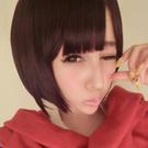 小惡魔平瀏海BOBO短髮~高仿真特殊色整頂假髮【MB085】☆雙兒網☆