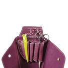 ◇天天美容美髮材料◇ 派迪佳 編織紋剪刀包 (紫色) KL-032 [90841]