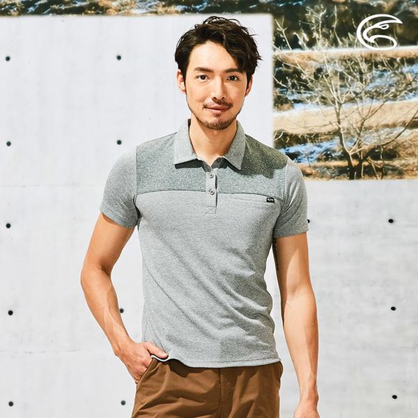 ADISI 男本布領POLO涼感智能纖維速乾短袖上衣AL2111140 (M-2XL) / 吸濕排汗 快乾 單向導濕 涼感 排汗衣