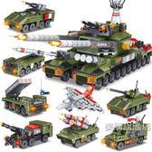 組裝積木兒童益智玩具積木男孩子坦克軍事模型7小學生6-12歲8組裝禮物