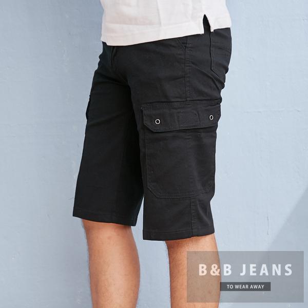 百搭多口袋設計短褲.工作褲2色