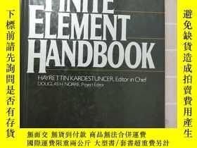 二手書博民逛書店【英文原版】finite罕見element handbook有限 手冊Y359432 Mcgraw-Hill