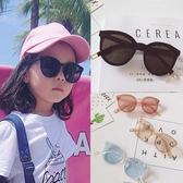 兒童墨鏡 男童太陽鏡防紫外線男女孩個性兒童沙灘墨鏡  可然精品鞋櫃