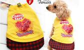 [寵樂子]《日本FIORUCCI》寵物水鑽蛋糕連身洋裝-黃色