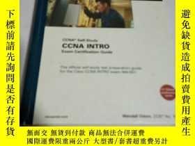 二手書博民逛書店CCNA罕見INTRO Exam certification G