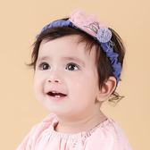 髮帶韓國款蕾絲皇冠毛球寶寶嬰兒髮帶頭帶送禮拍攝彌月婚禮果漾妮妮【P3971 】