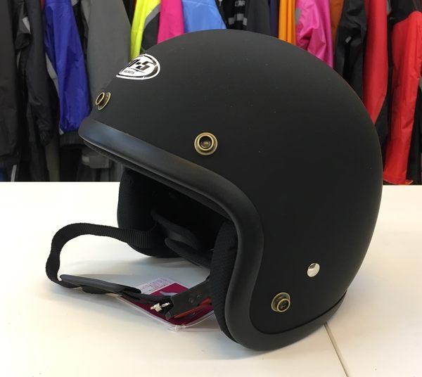 GP-5安全帽,復古帽,小帽體,D303,消光黑