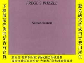 二手書博民逛書店Frege s罕見PuzzleY364682 Nathan Salmon Ridgeview Pub Co