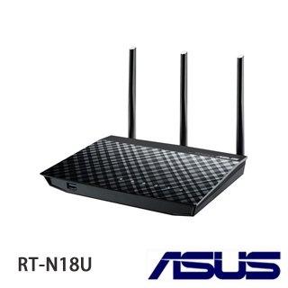 [富廉網] ASUS華碩 RT-N18U 無線網路分享器 600M
