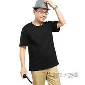 男裝夏季中年短袖男士t恤純棉爸爸半袖體恤衫寬鬆中老年人上衣服 618促銷