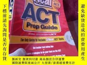 二手書博民逛書店Real罕見ACT Prep Guide with CD-Rom