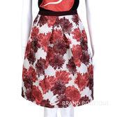 MAX MARA-WEEKEND 紅花抓褶設計及膝裙 1430583-54