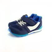日本月星MOONSTAR 魔鬼氈機能學步鞋 《7+1童鞋》B474 藍色