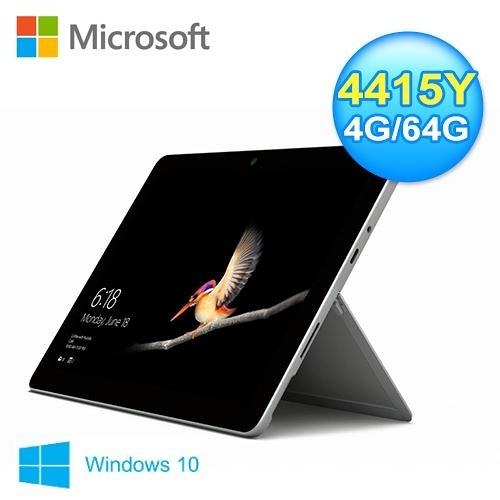 【Microsoft 微軟】Surface Go 10吋平板筆電 (MHN-00011) 【加碼贈藍芽喇叭】