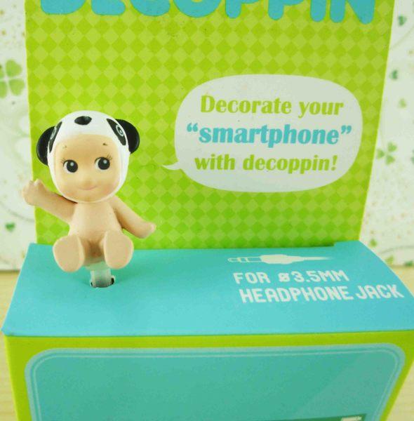 【震撼精品百貨】Q比_Kewpie~防塵塞-熊貓
