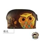 【收藏天地】台灣紀念品*手工皮雕長零錢包系列(2色) ∕皮夾 錢包 禮物 文創 可愛 小物