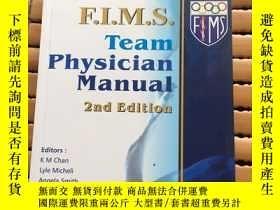 二手書博民逛書店F.I.M.S.罕見Team Physician Manual