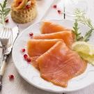 【大口市集】【超美味】頂級煙燻鮭魚片1kg