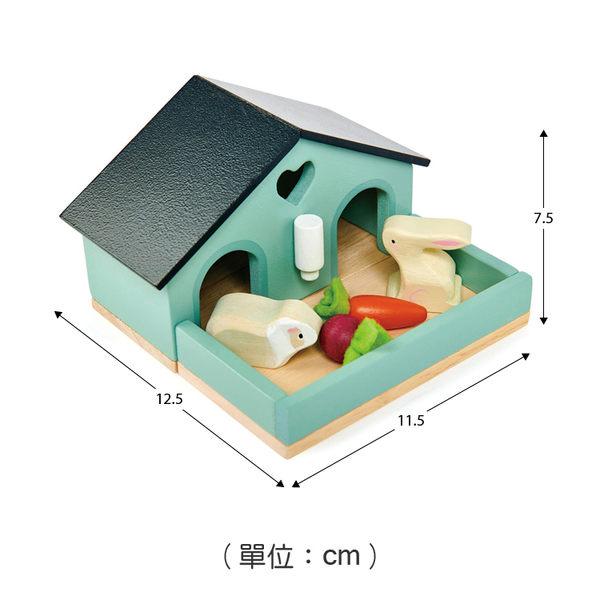 【美國Tender Leaf Toys】寵物小兔的窩(娃娃屋配件)
