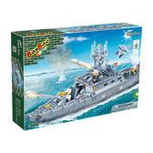 戰爭系列 NO.8415護衛艦 戰艦款(與樂高Lego相容)大盒【BanBao邦寶積木楚崴】