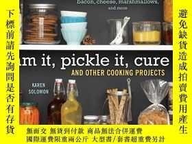 二手書博民逛書店Jam罕見It, Pickle It, Cure It: And