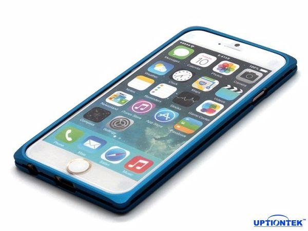 UptionTek Miyabi iPhone 6 Plus 5.5吋 IP638 銀白色極致輕薄型鋁合金保護框