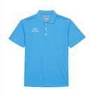 KAPPA 義大利男款吸濕排汗短袖POLO衫 珊瑚藍 311821W474