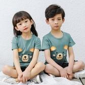 兒童短袖T恤 男童純棉童裝女童寶寶中大童男孩韓版夏裝半袖上衣潮