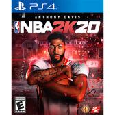 [哈GAME族]免運費 可刷卡●收錄遊戲幣+聯盟卡包●PS4 NBA 2K20 中文版 美國職業籃球賽 實體光碟
