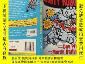 二手書博民逛書店RICKY罕見RICOTTA S MIGHTY ROBOT:RICKY RICOTTA的強大機器人Y20039
