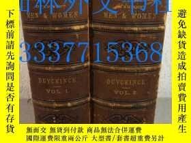二手書博民逛書店【罕見】1873年精裝兩卷本 Portrait Gallery