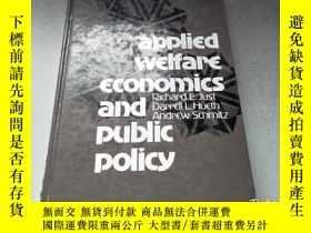 二手書博民逛書店(Applied罕見Welfare Economics and