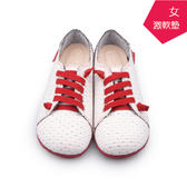 【A.MOUR 經典手工鞋】特色饅頭 - 點白 / 氣墊鞋 / 平底 / 嚴選布料 / 超軟饅頭鞋 / DH-2718