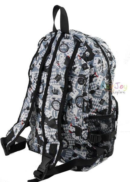 HAPI+TAS 摺疊後背包 - 新版灰色愛麗絲