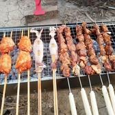 燒烤架家用燒烤爐木炭戶外烤爐架子5人以上全套燒烤工具折疊爐子 居享優品