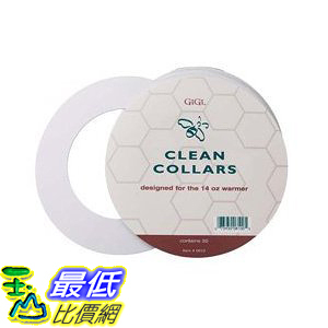 [美國直購] Gigi 0810 Clean Collars 50 Count For The 14 oz warmer 蜜蠟罐清潔紙圈