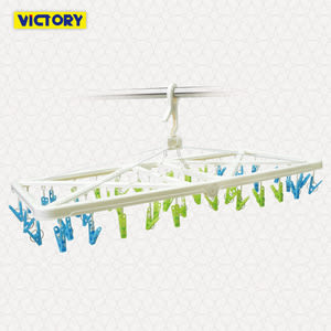【VICTORY】大型折疊防風曬衣架-50夾 #1228023