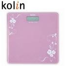 歌林Kolin 彩繪玻璃電子秤 KW-R012