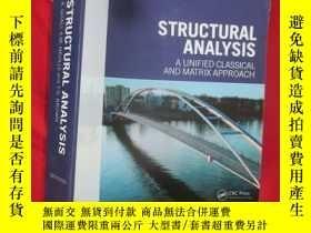 二手書博民逛書店Structural罕見Analysis: A Unified