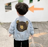 男童外套春秋款嬰兒衣服兒童秋裝夾克洋氣男寶寶秋季上衣