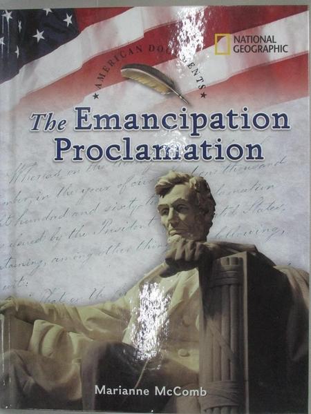 【書寶二手書T7/兒童文學_I4E】The Emancipation Proclamation_Mccomb, Marianne