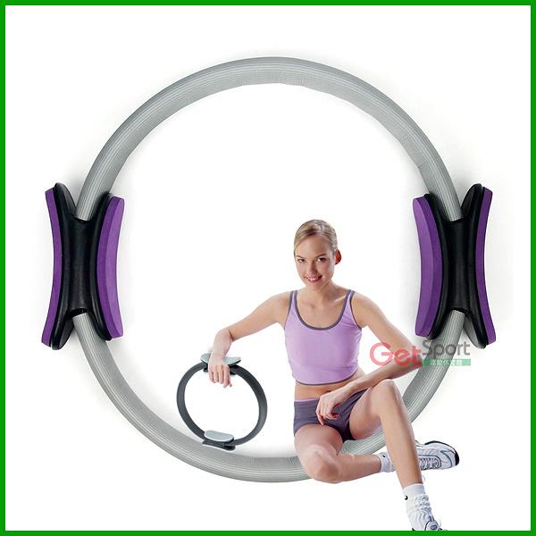 瑜珈圈(月牙手柄)(健身圈/韻律圈/瑜伽圈/瘦身圈/Toning Ring/全家超商取貨)