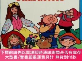二手書博民逛書店How罕見to Draw Fairy-Tale Characters-如何畫童話人物Y364727 Jocel