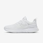 Nike W Legend React 2 [AT1369-100] 女鞋 運動 慢跑 避震 包覆 健身 透氣 白灰