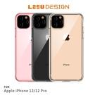 【愛瘋潮】LEEU DESIGN iPhone 12/12 Pro (6.1吋) 鷹派 隱形氣囊保護殼 防撞殼 防摔殼