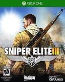 X1 Sniper Elite III 狙擊之神 3(美版代購)
